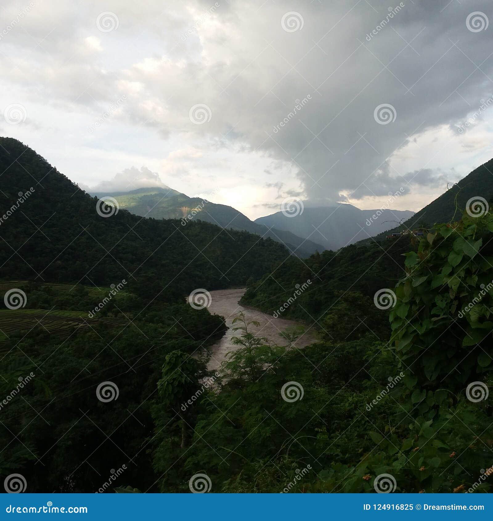 Ansichtform Manakamana Nepal