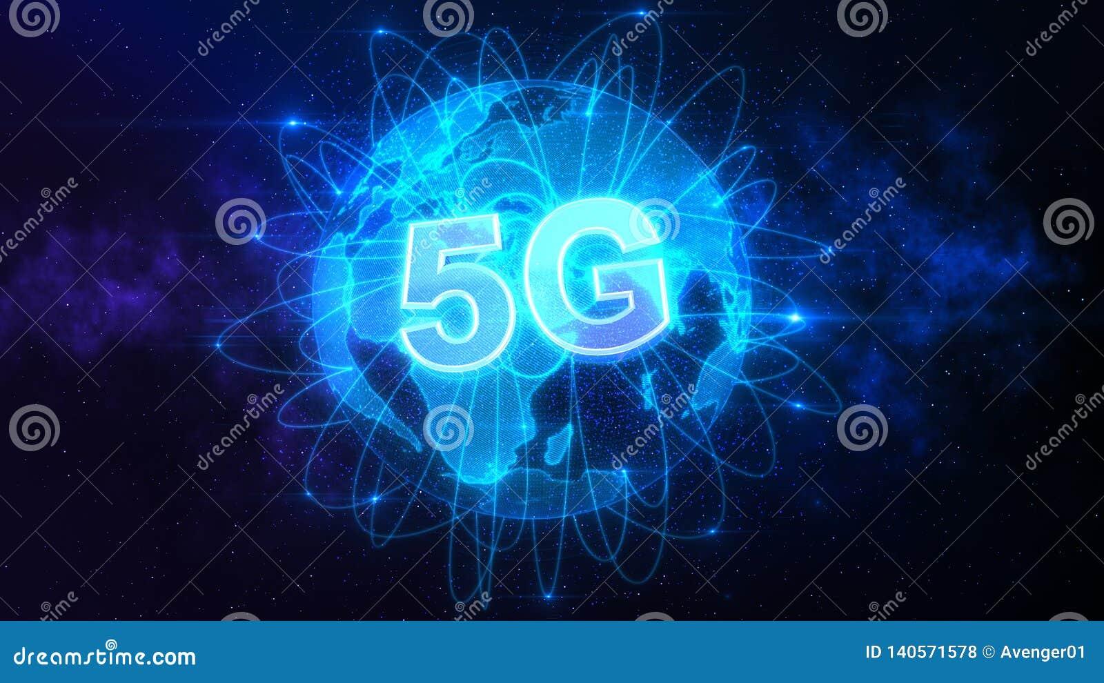 Anslutning 5G över världen