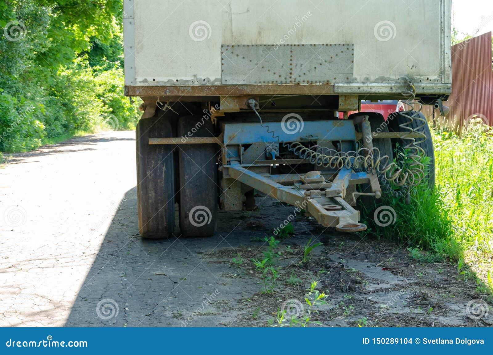 Anslutningen mellan lastbilen och sl?pet