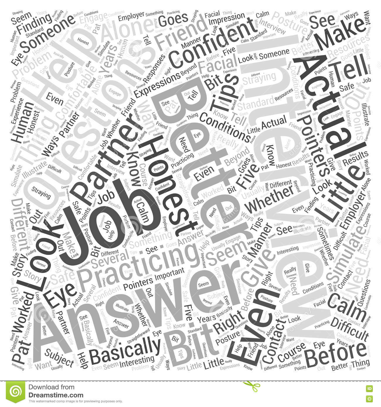answer job interview questions 04 word cloud concept vector answer job interview questions 04 word cloud concept vector background