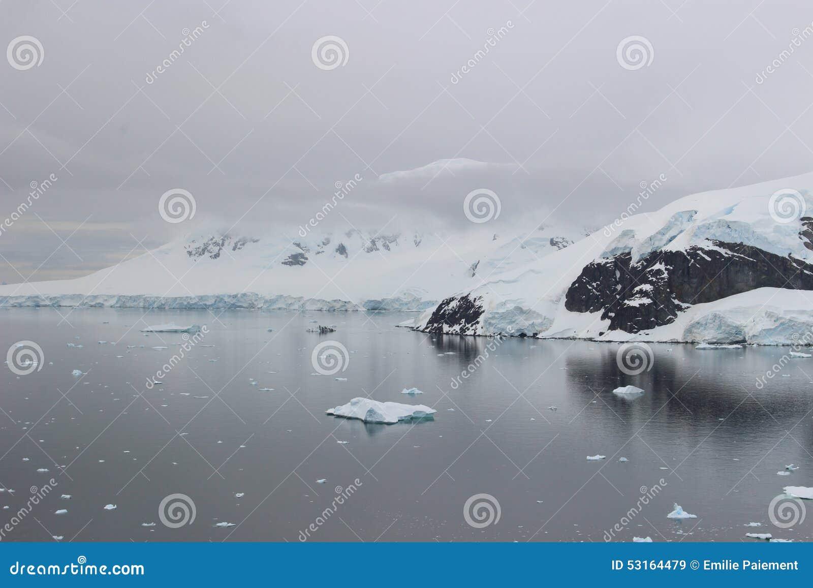 A Antártica - paisagem