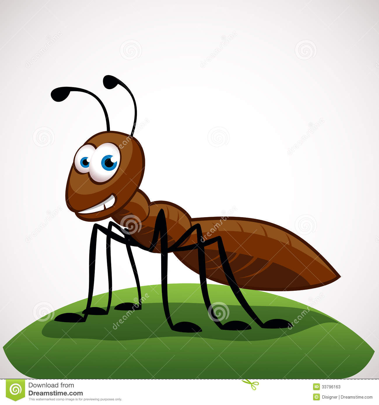 Ant Cartoon Character Stock Photos - Image: 33796163