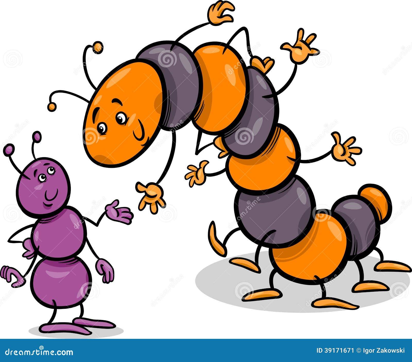 Caterpillar cartoon bugs vector illustration