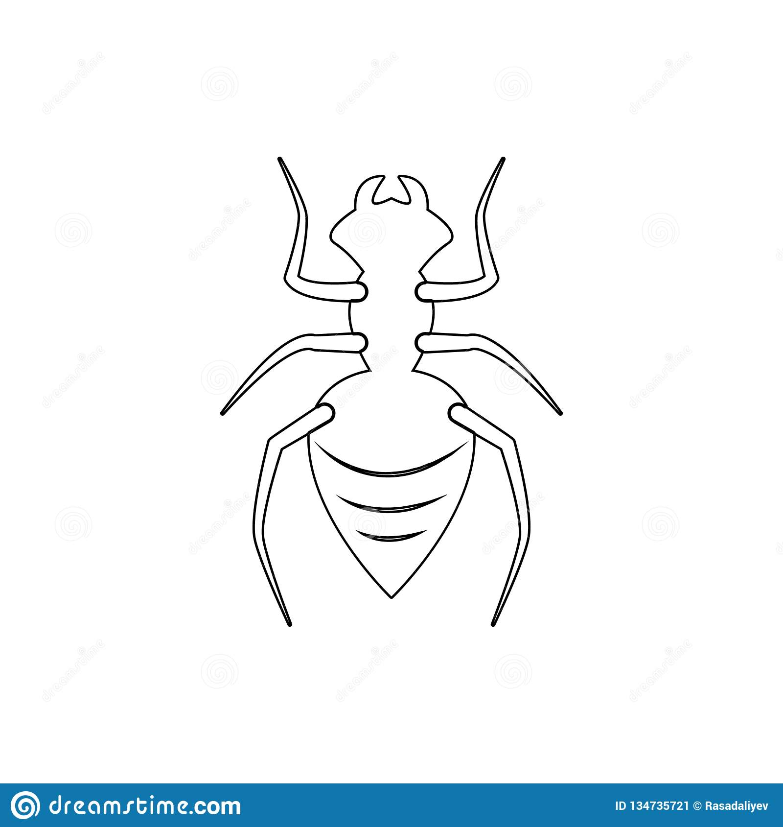 Ant Icon  Element Of Insect For Mobile Concept And Web Apps