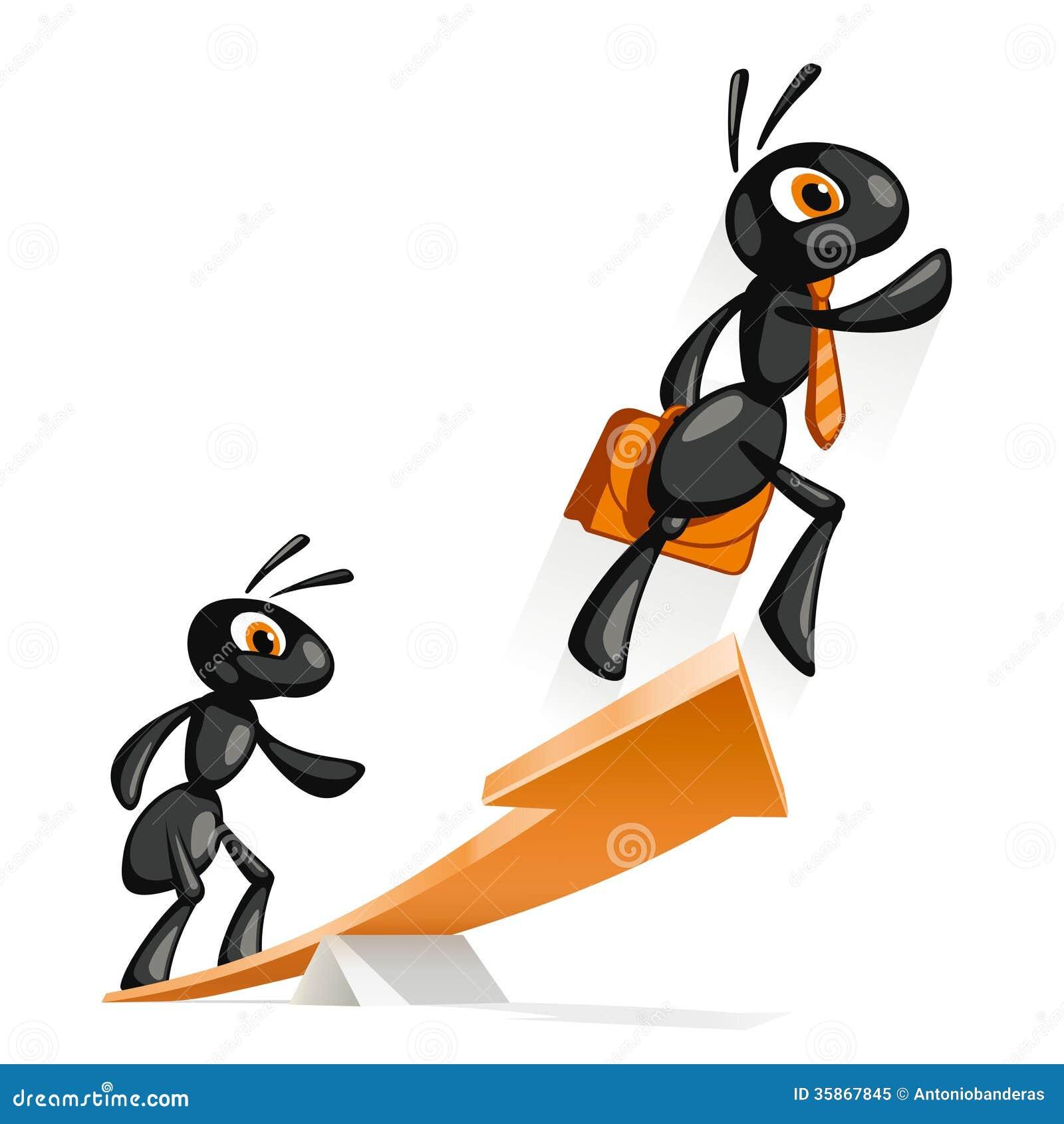 Ant Idea stock vector  Illustration of idea, lightbulb - 35867845