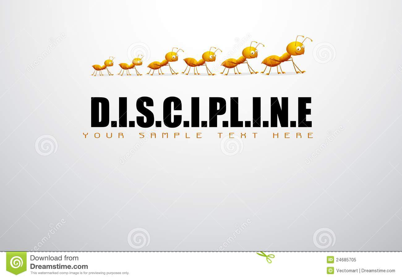 how to develop discipline in life