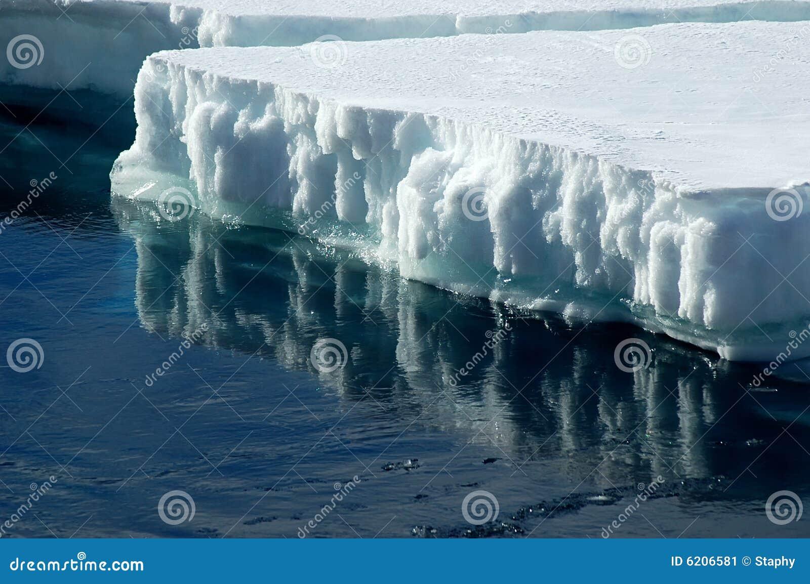 Antarctic ice floe