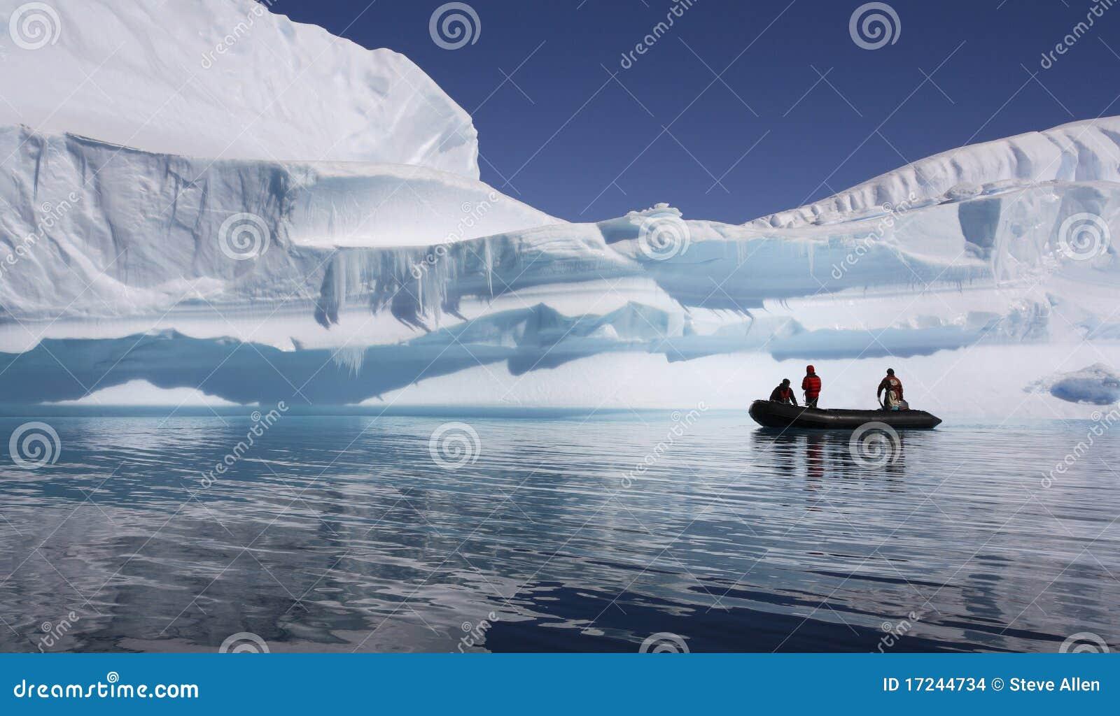 Antarctica - Adventure Tourists