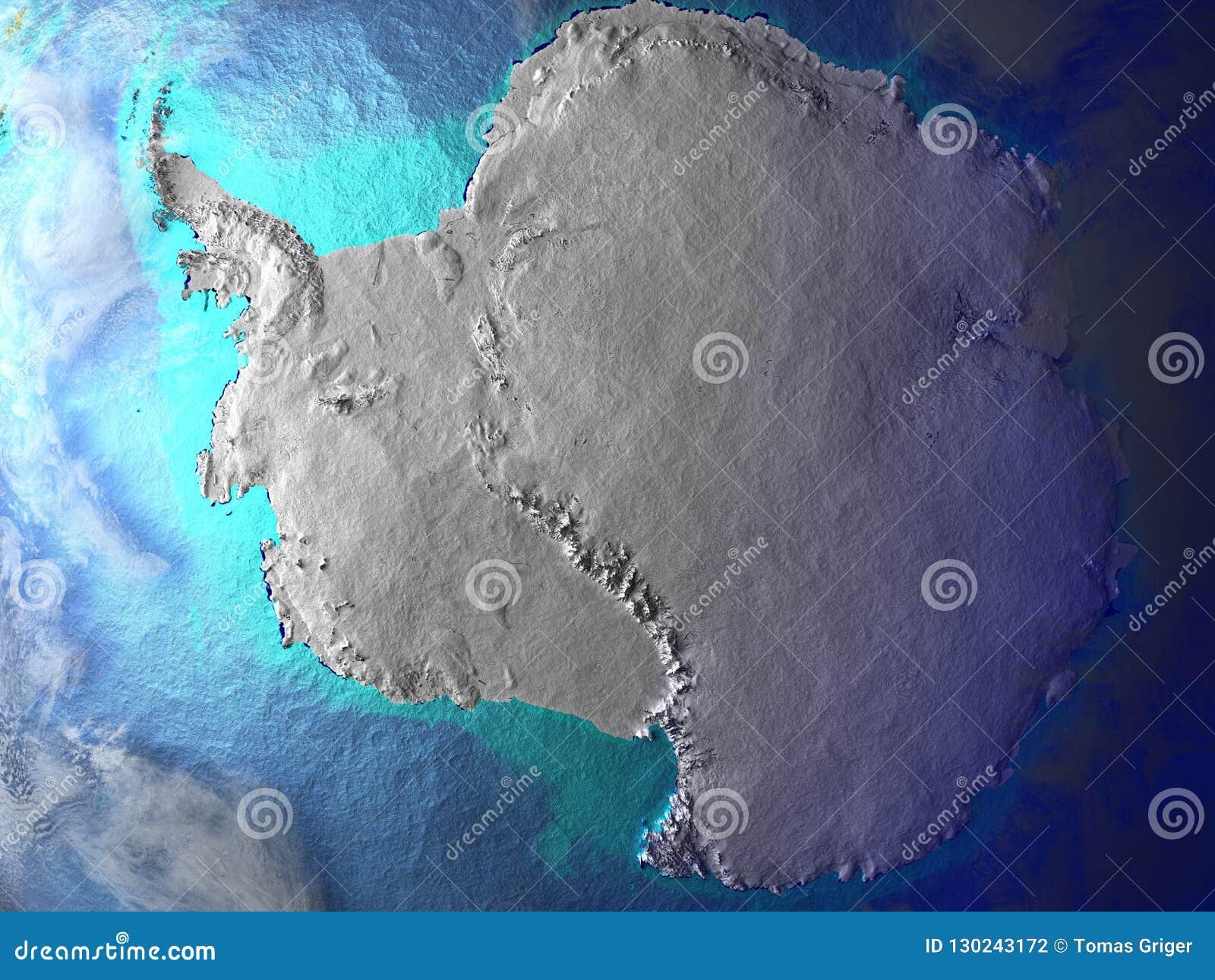 Antarctica na ziemi