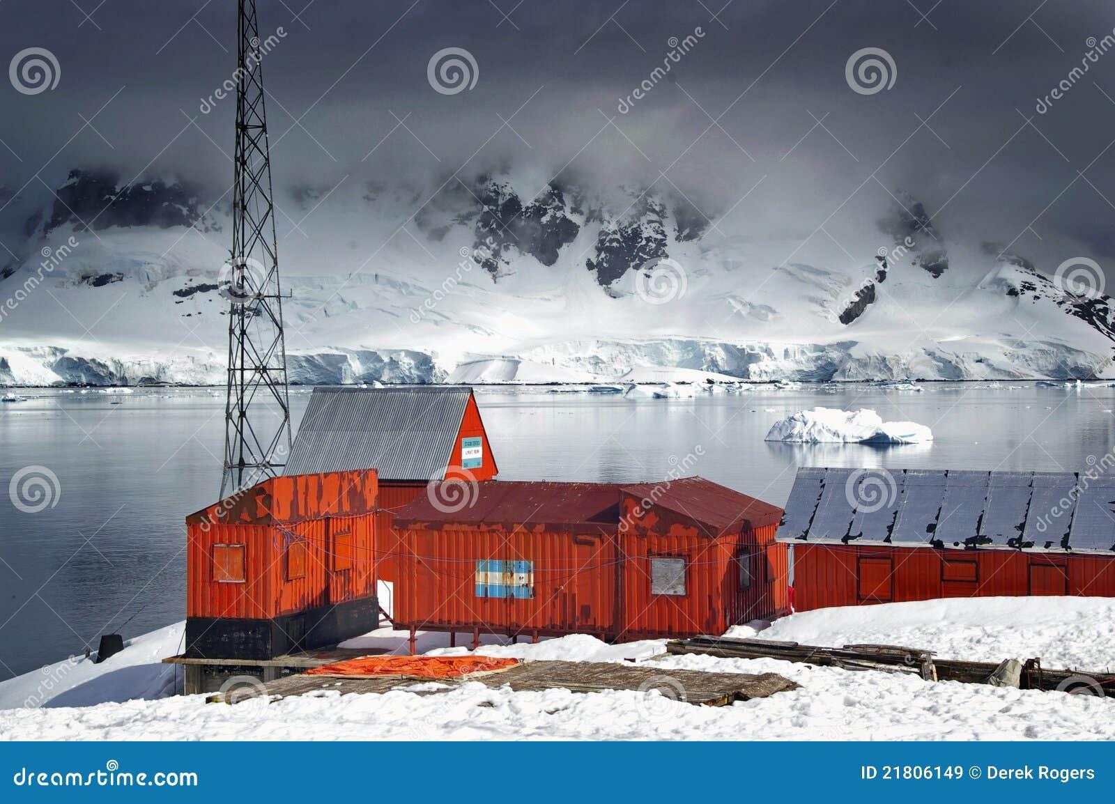 Antarctische onderzoekpost
