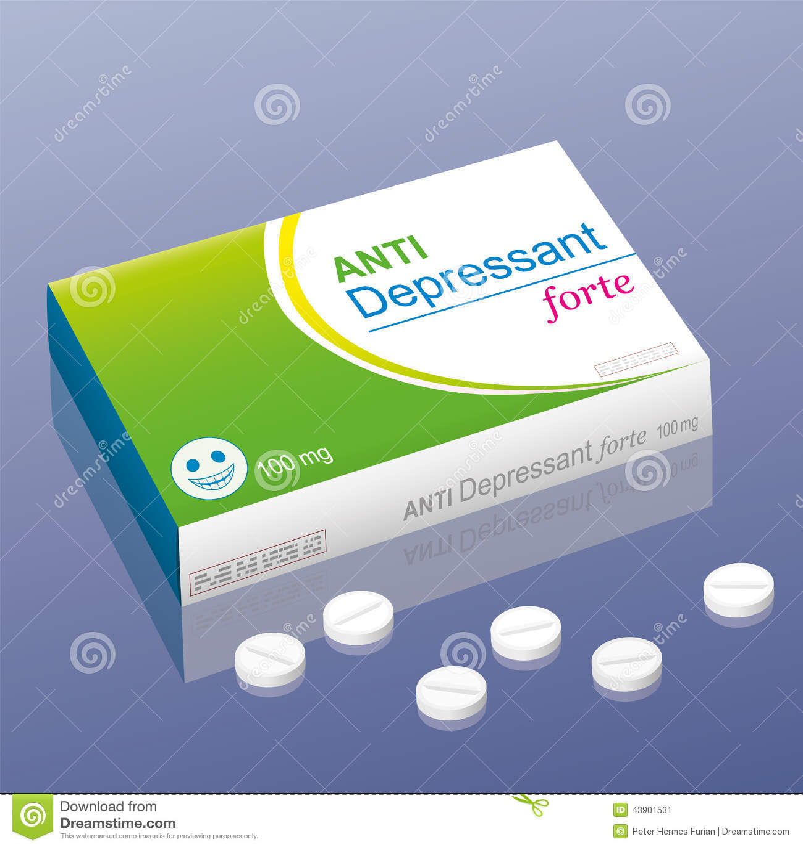 Ante Depressant forte pigułki