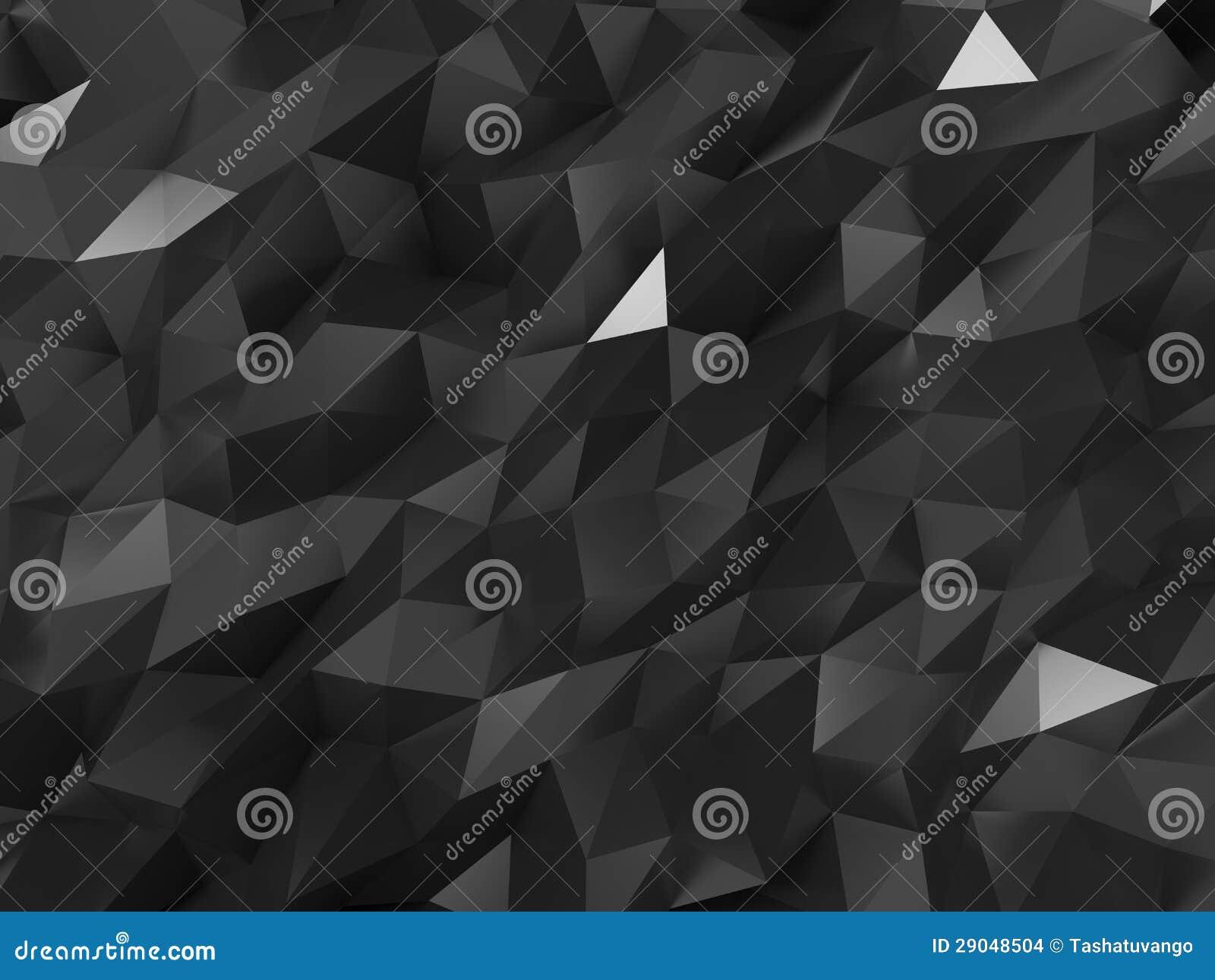 Antecedentes Abstractos De Estructura Cristalina Stock De