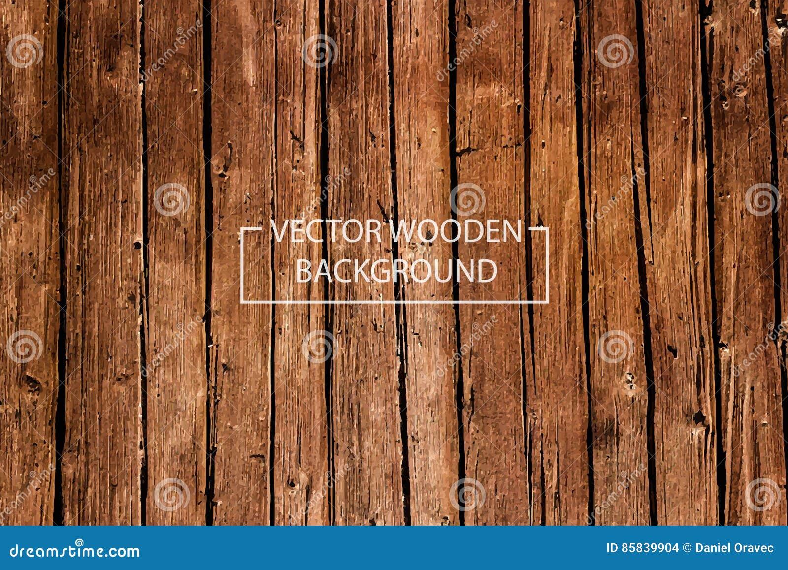 Antecedentes de madera del vector