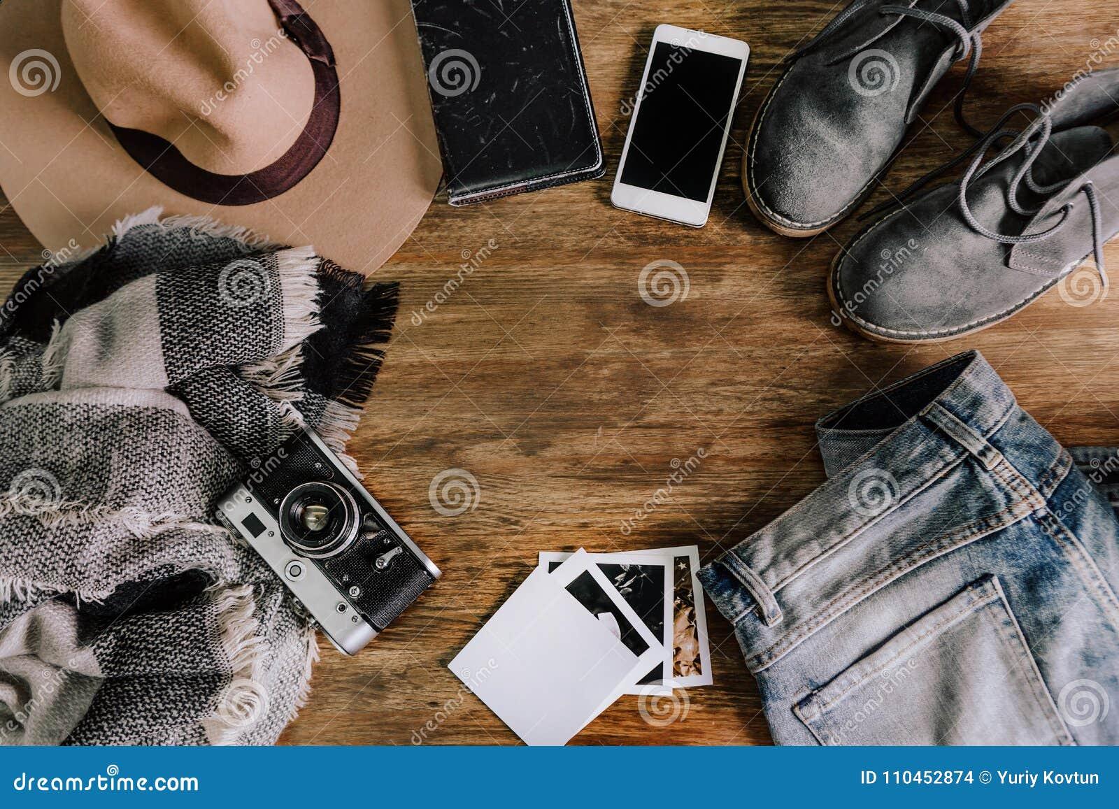 Anteckningsbok för telefon för jeans för hattkameratröja