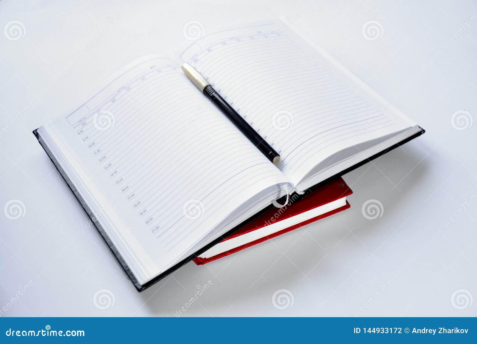 Anteckningsboken och skrivar