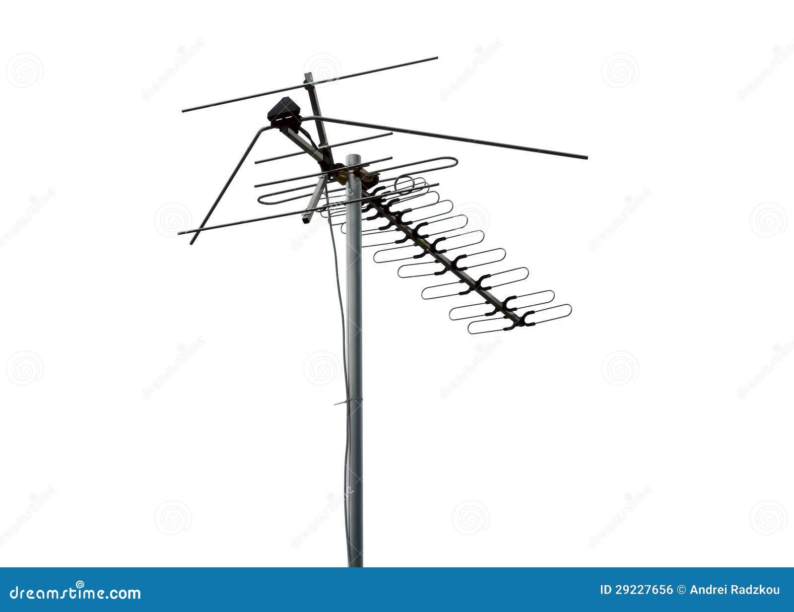 Download Antena foto de stock. Imagem de wireless, onda, telecomunicações - 29227656