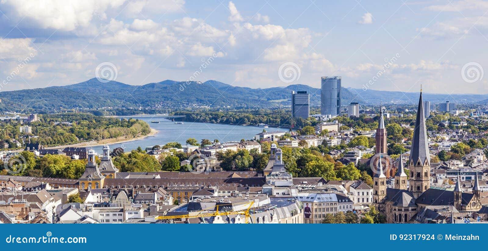 Antena de Bonn, la capita anterior de Alemania