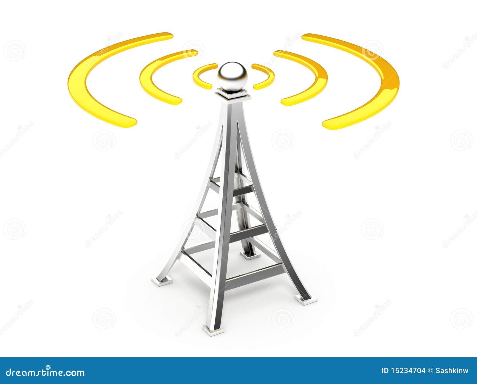 Antena de la comunicación
