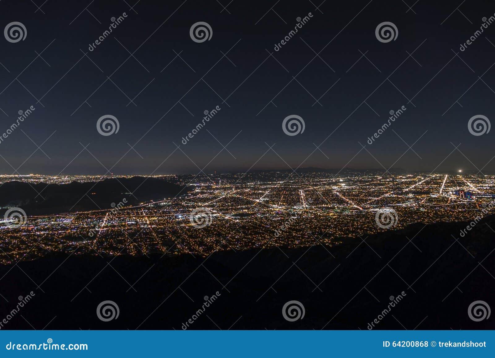 Antena de la noche de Los Ángeles