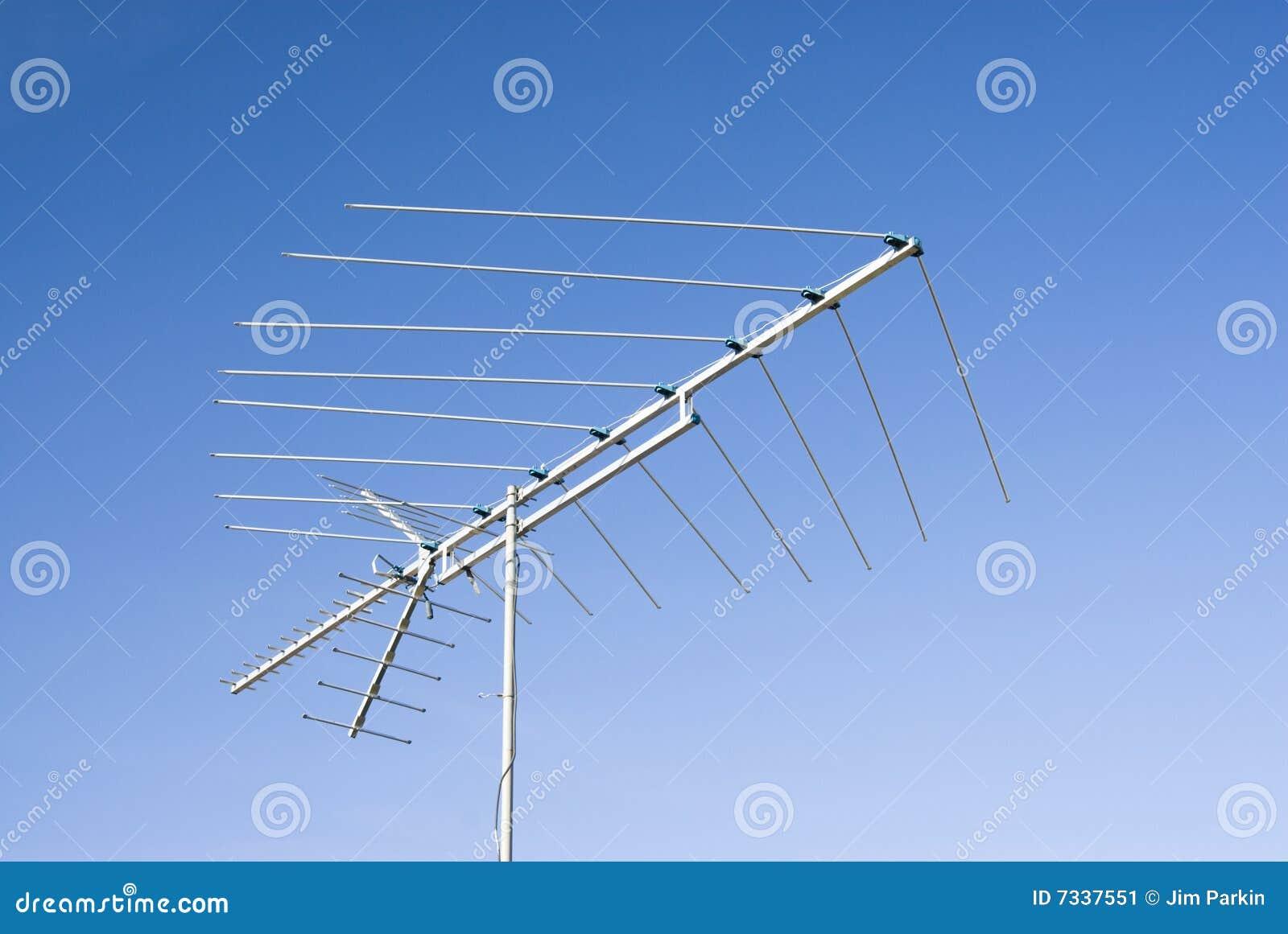 Antena de la TV