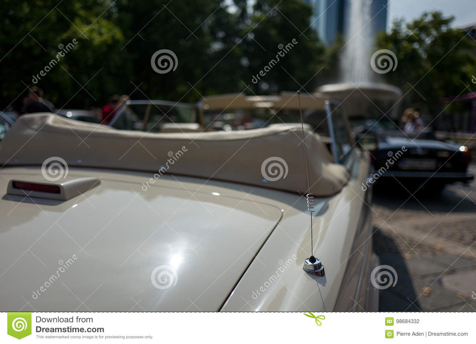 Antena do carro do vintage