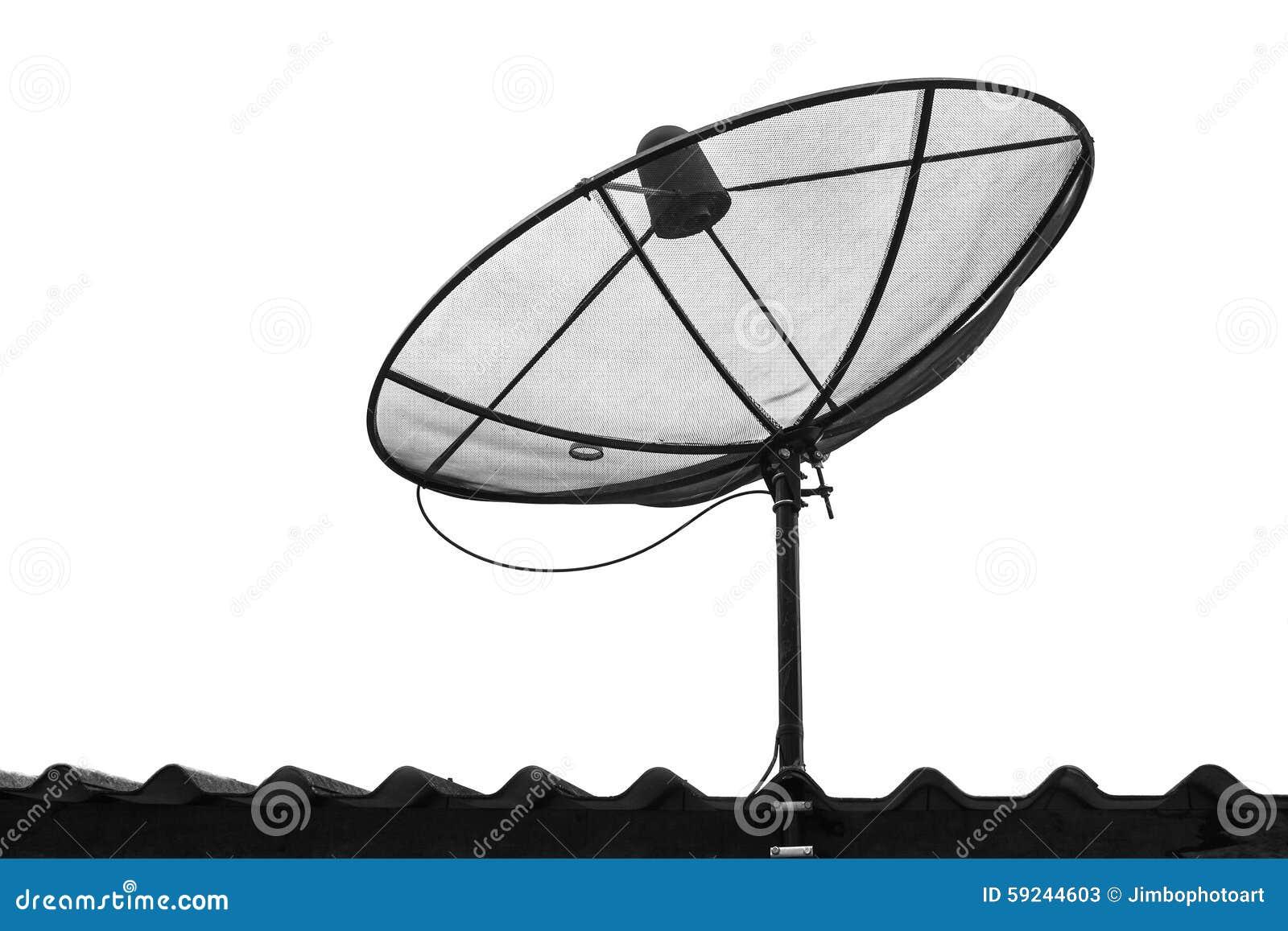 Download Antena Parabólica De La Telecomunicación Aislada Imagen de archivo - Imagen de celular, cielo: 59244603