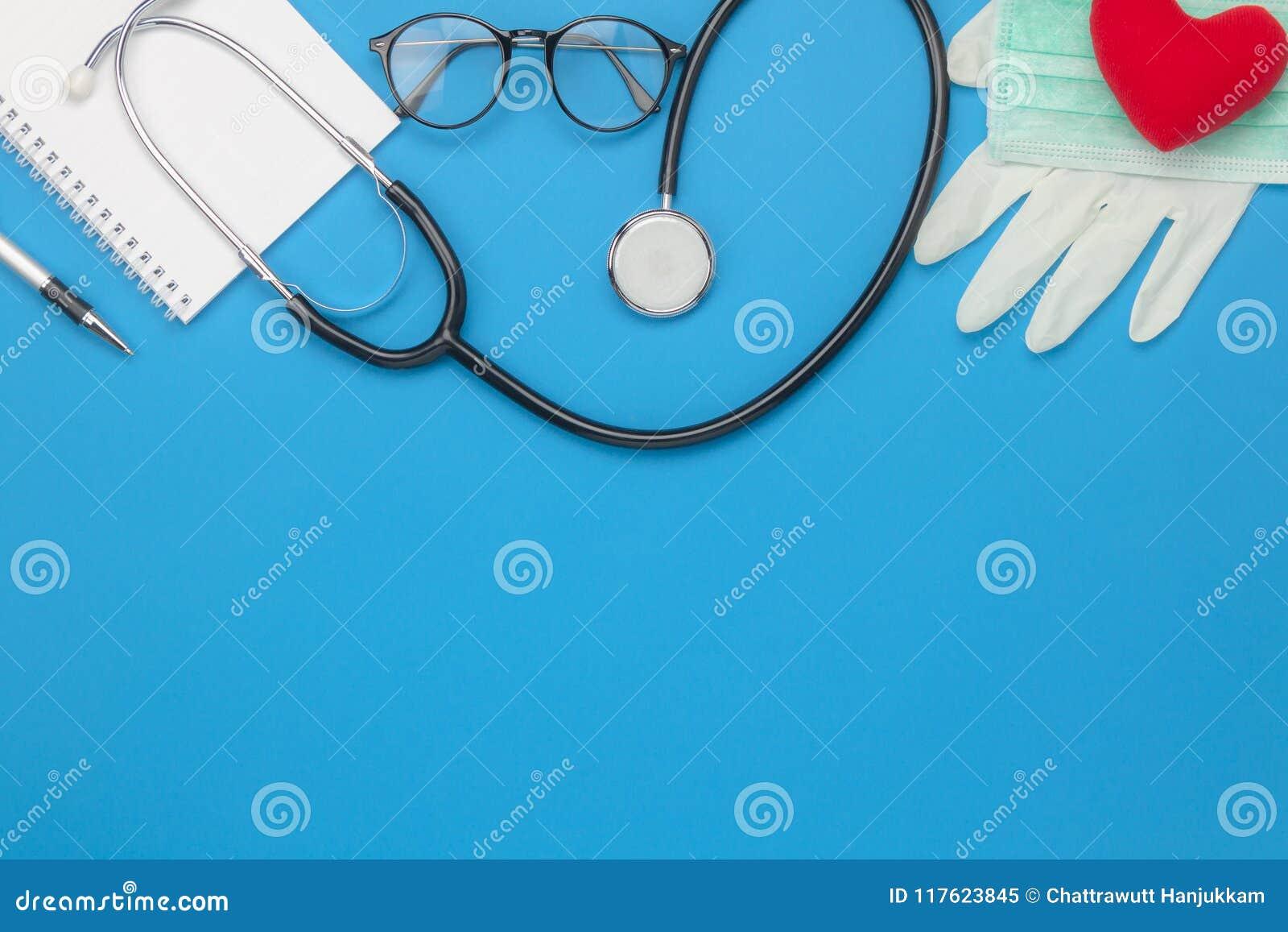 Antena plana de la endecha de la atención sanitaria de los accesorios y del concepto del fondo médico