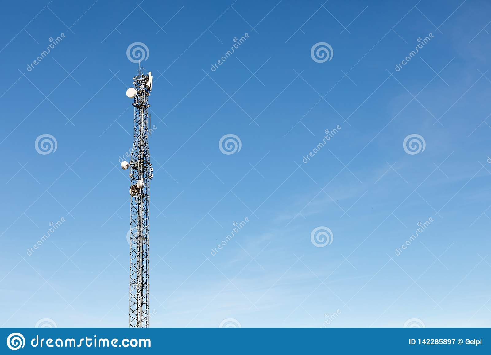 Antenna tower for communication