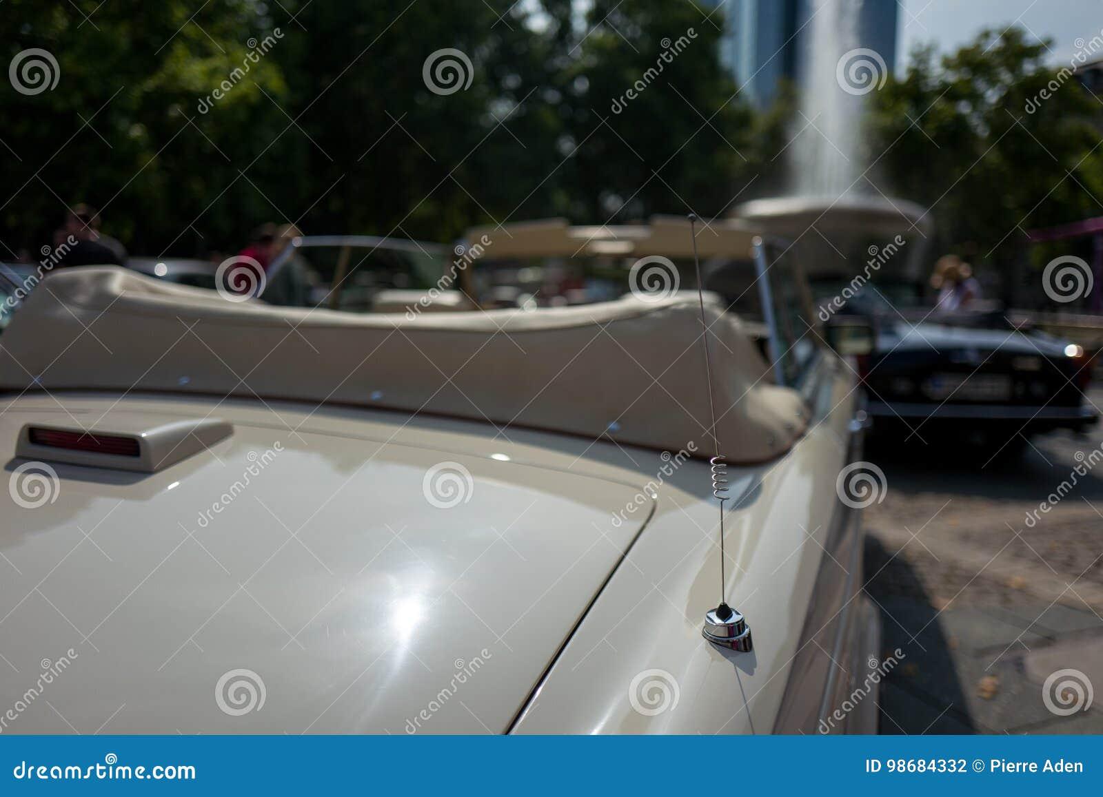 Antenna Of Vintage Car Stock Photo Image Of Motor Prestigious