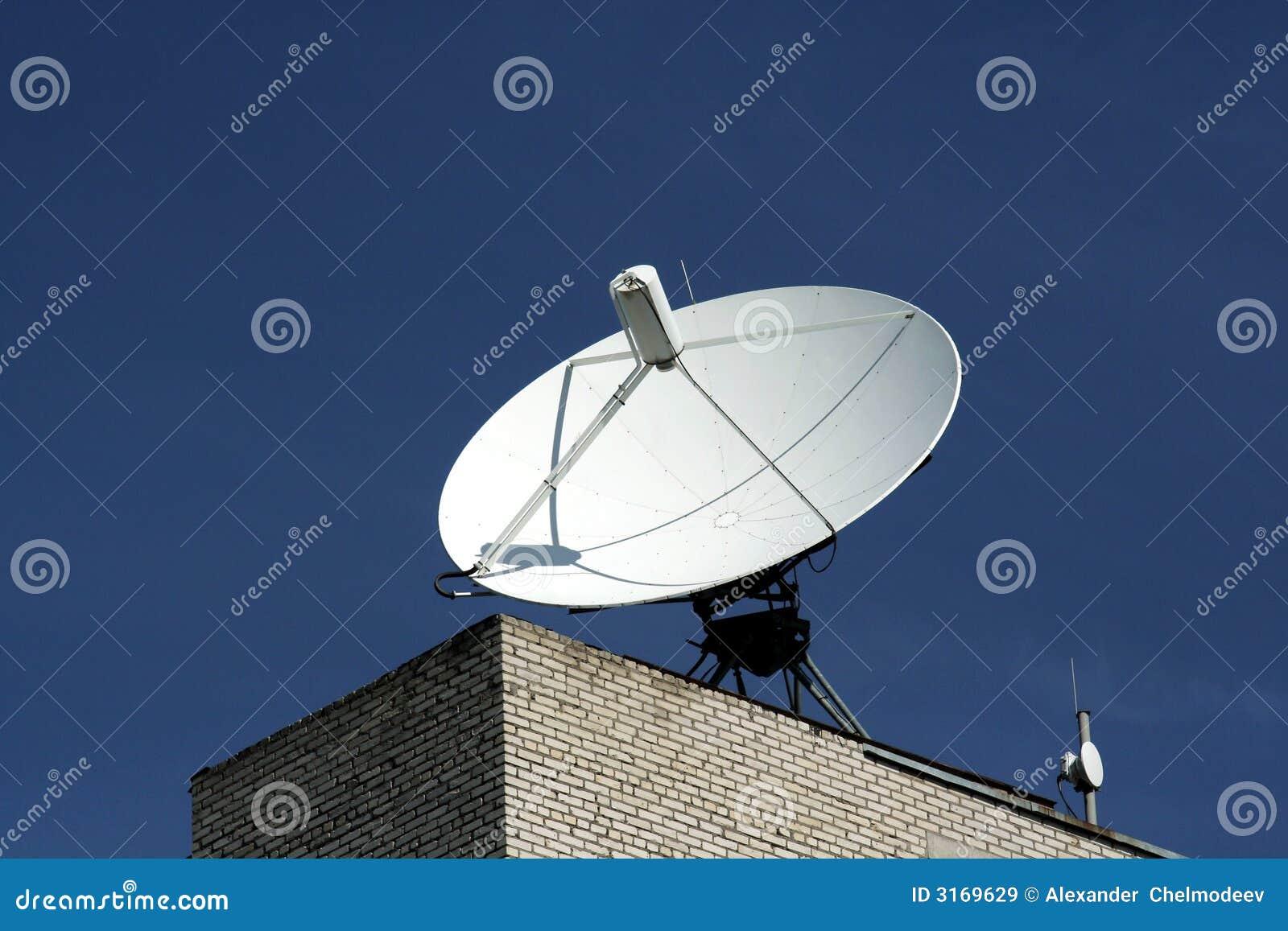 Antenne 3 d antenne parabolique