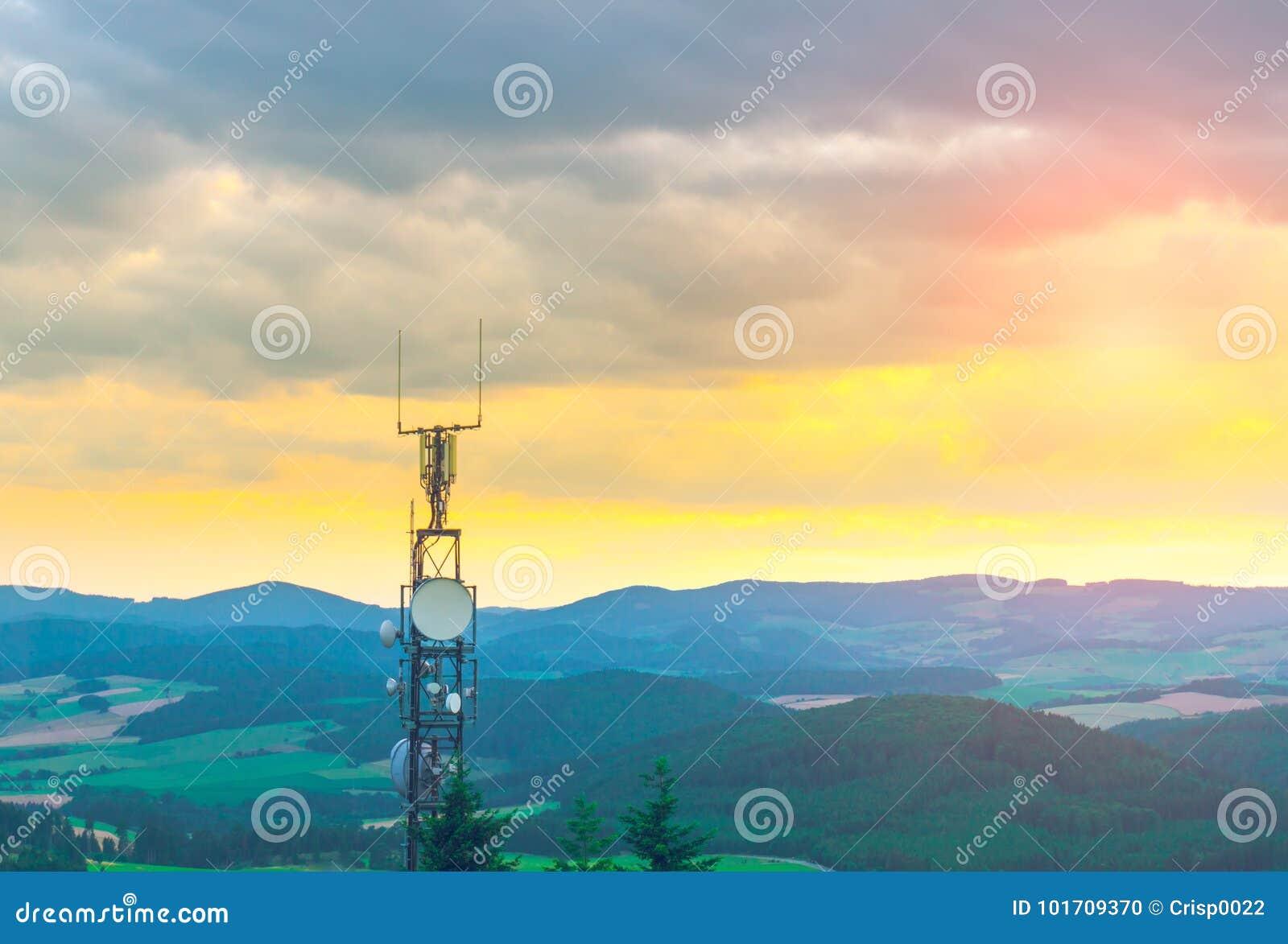 Antenne au dessus