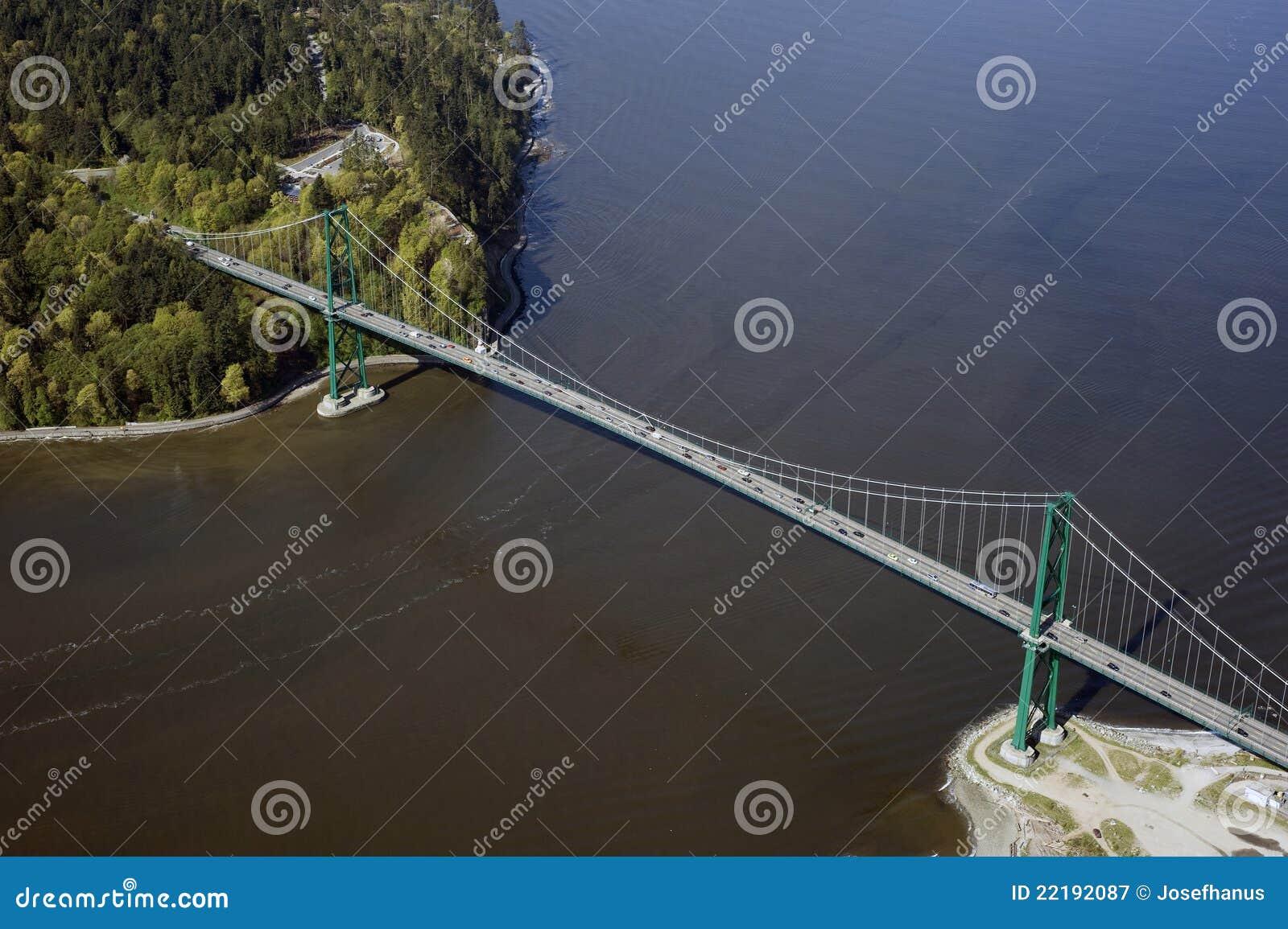 Antenne de Vancouver - pont en porte de lions