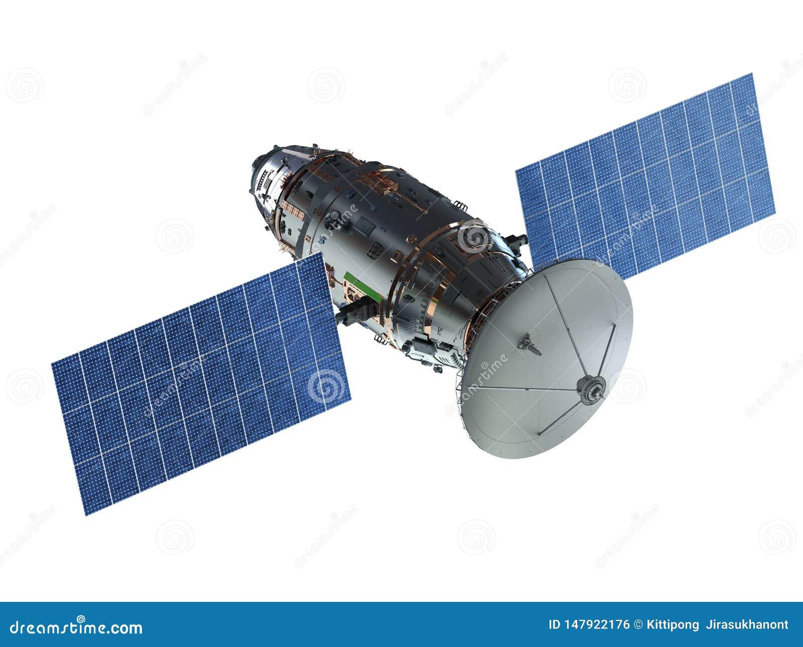 Antenne parabolique avec l antenne