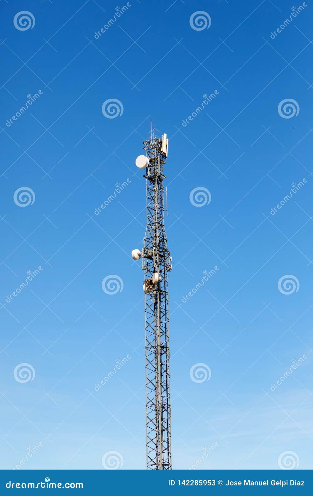 Antennetoren voor mededeling