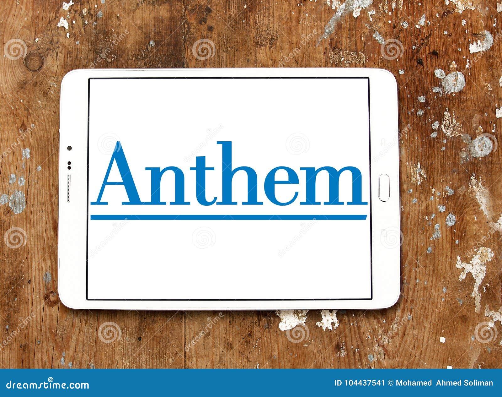 Anthem Health Insurance Company Logo Editorial Photo - Image