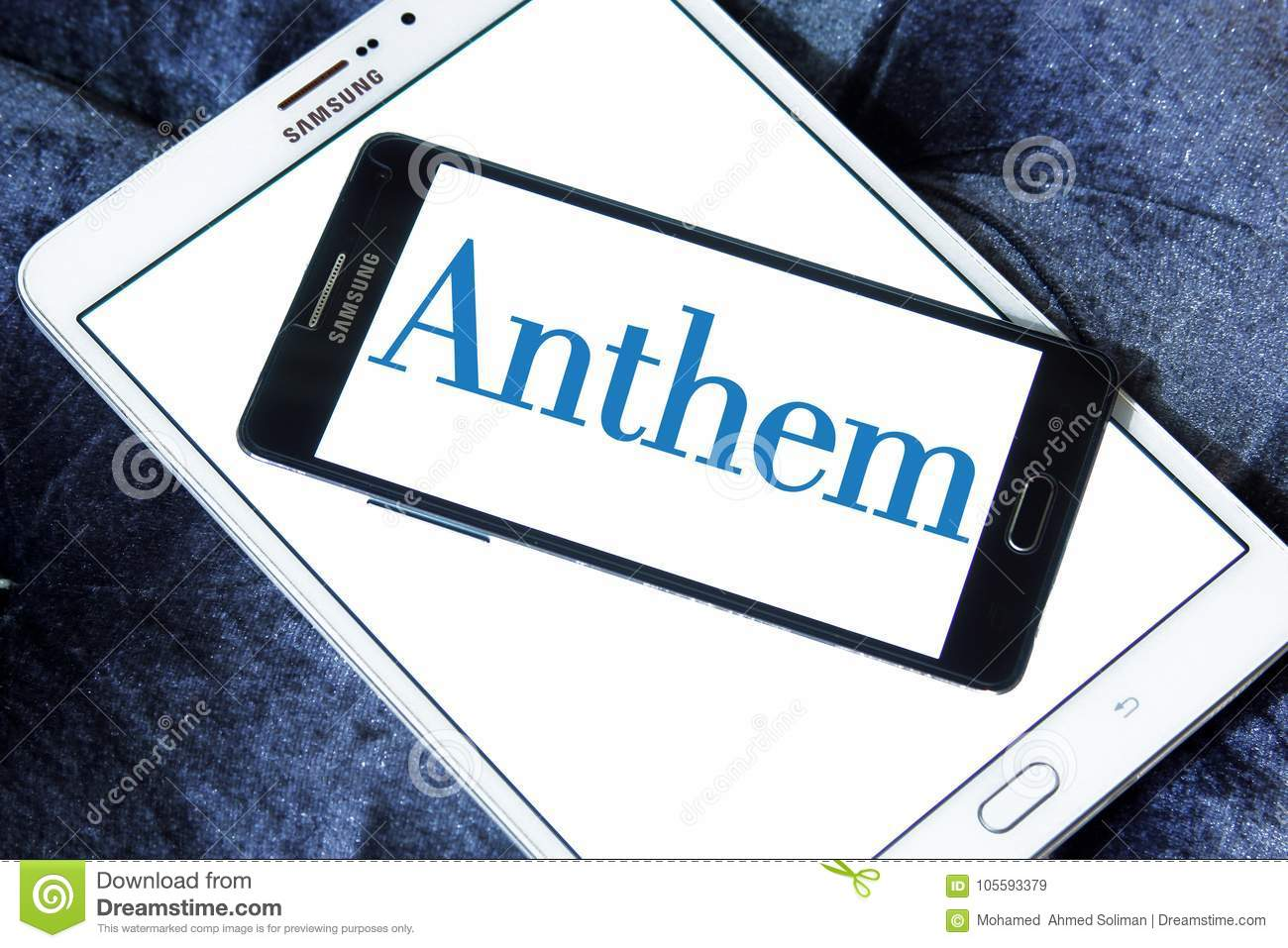 Anthem Health Insurance Company Logo Editorial Stock Image ...