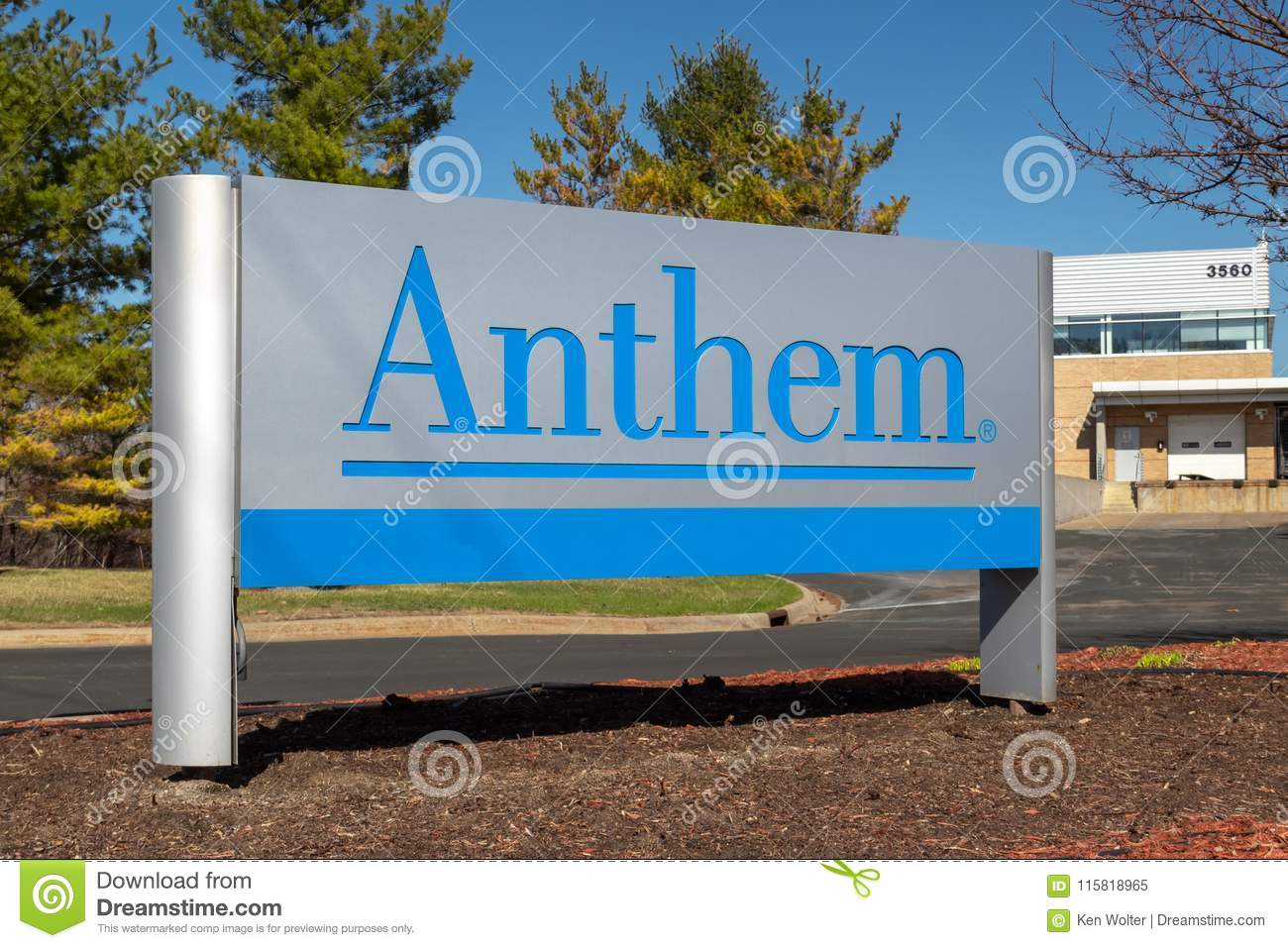 Anthem Insurance Company Exterior Entrance And Sign ...