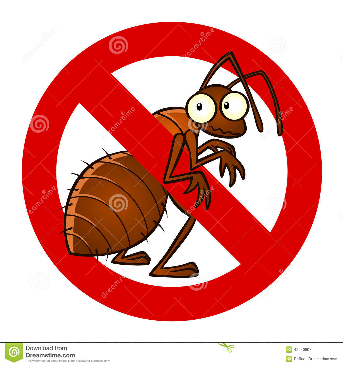 anti ant sign stock vector   image 42940607