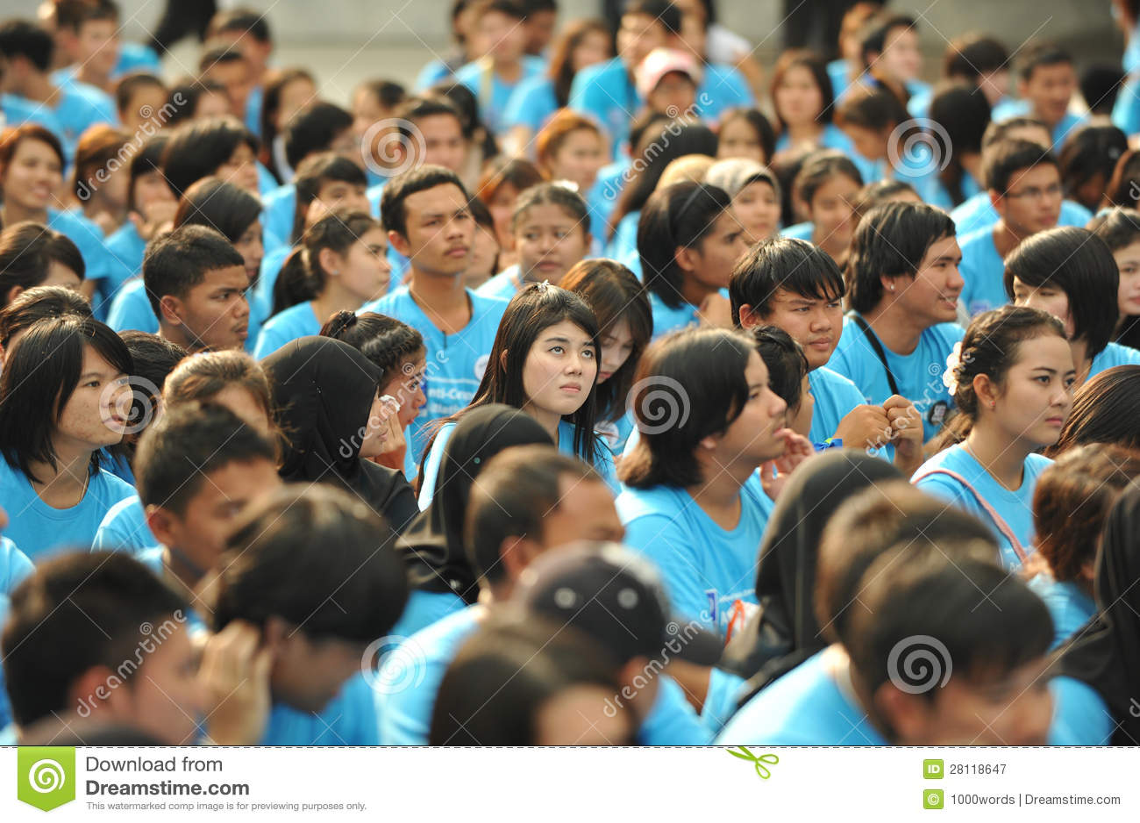 Anti-Corruption samla i Bangkok