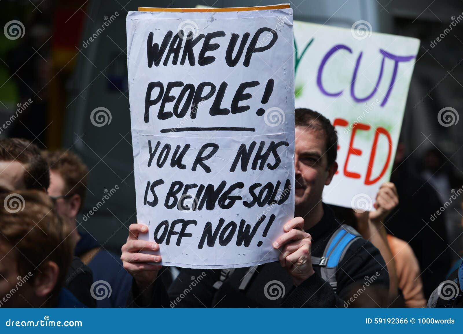 Anti Cuts Rally in London