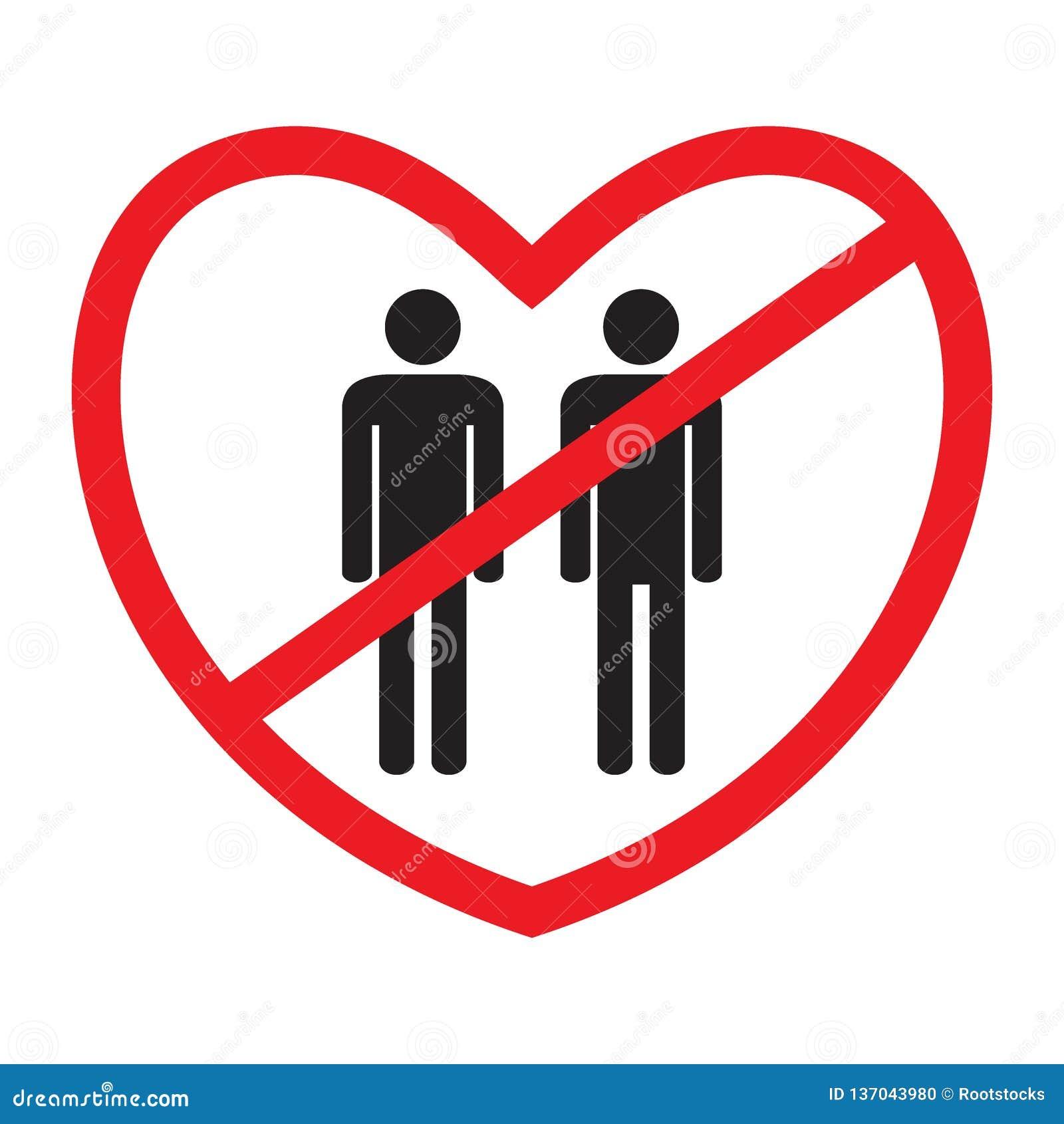 Anti-homoseksueel pictogram