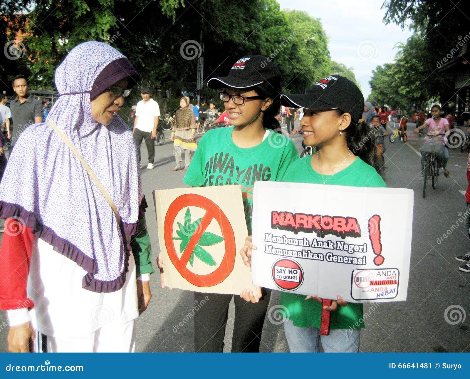 Anti narcotics campaign