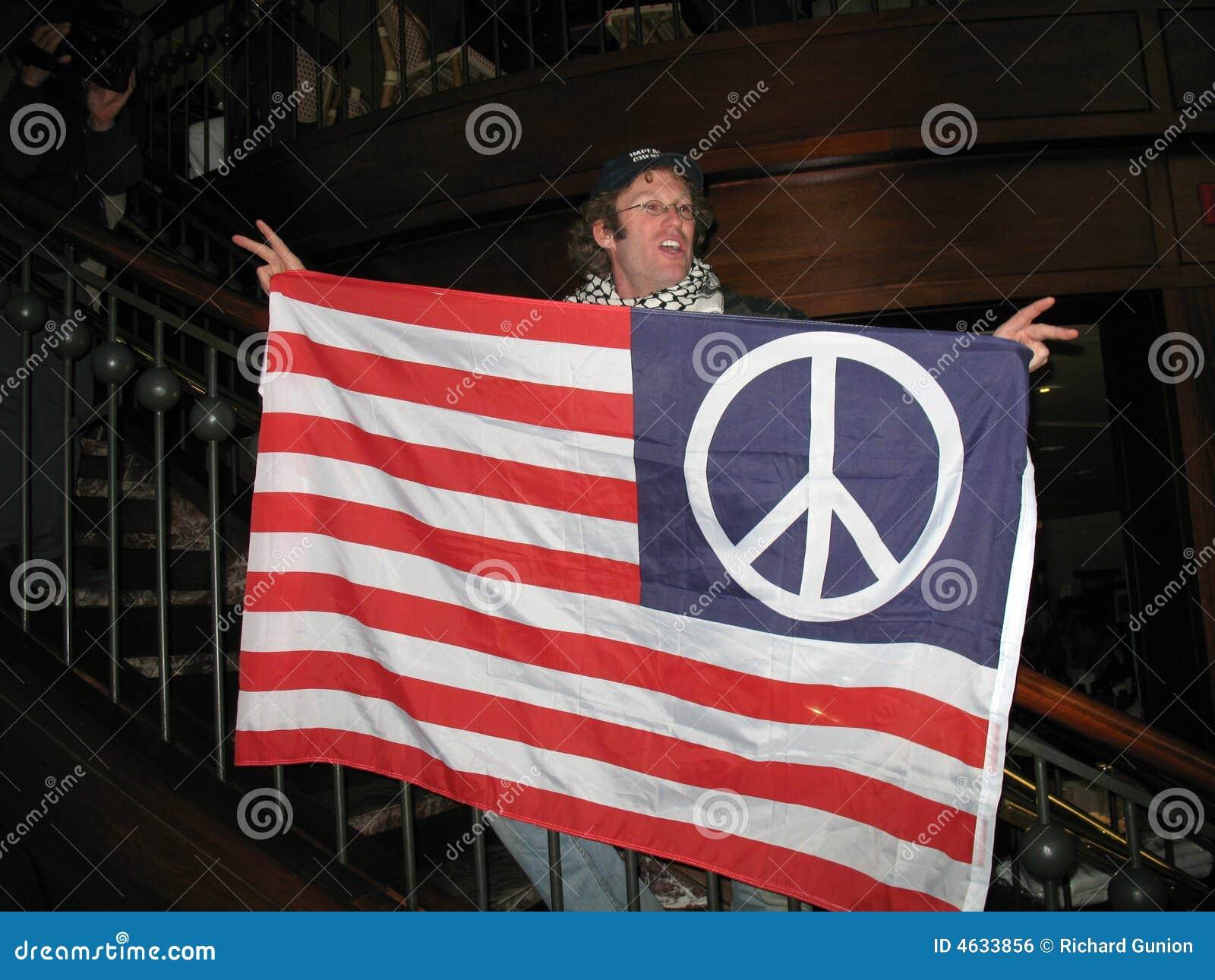 Anti protestador da guerra