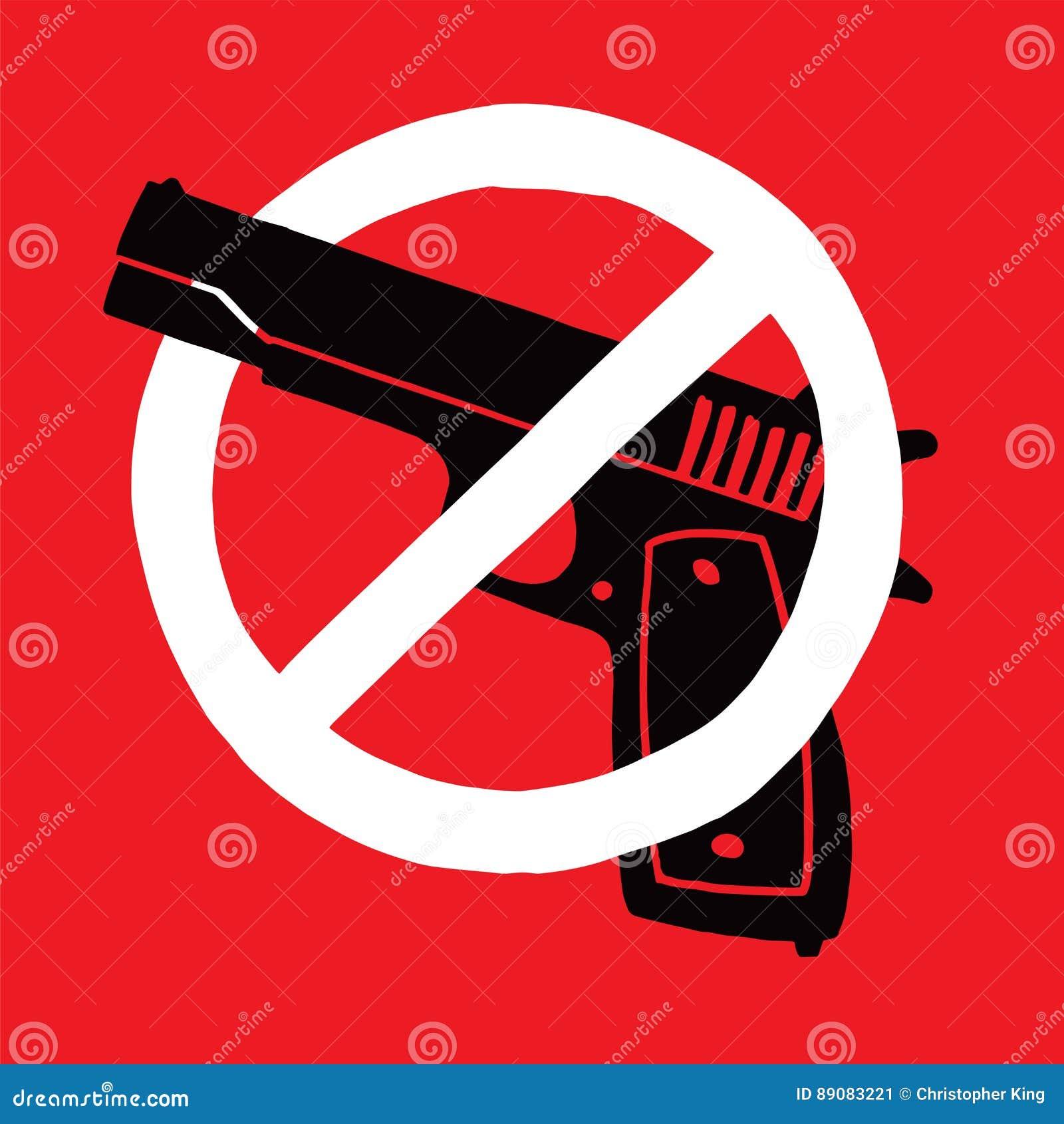 Anti símbolo da arma