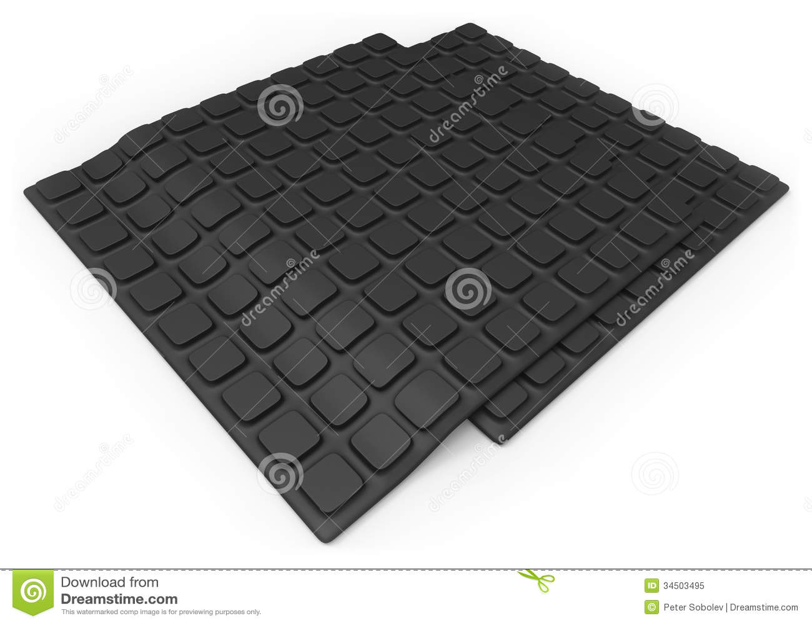 Anti Slip Rubber Mats : Anti slip rubber mat stock image of antiskid