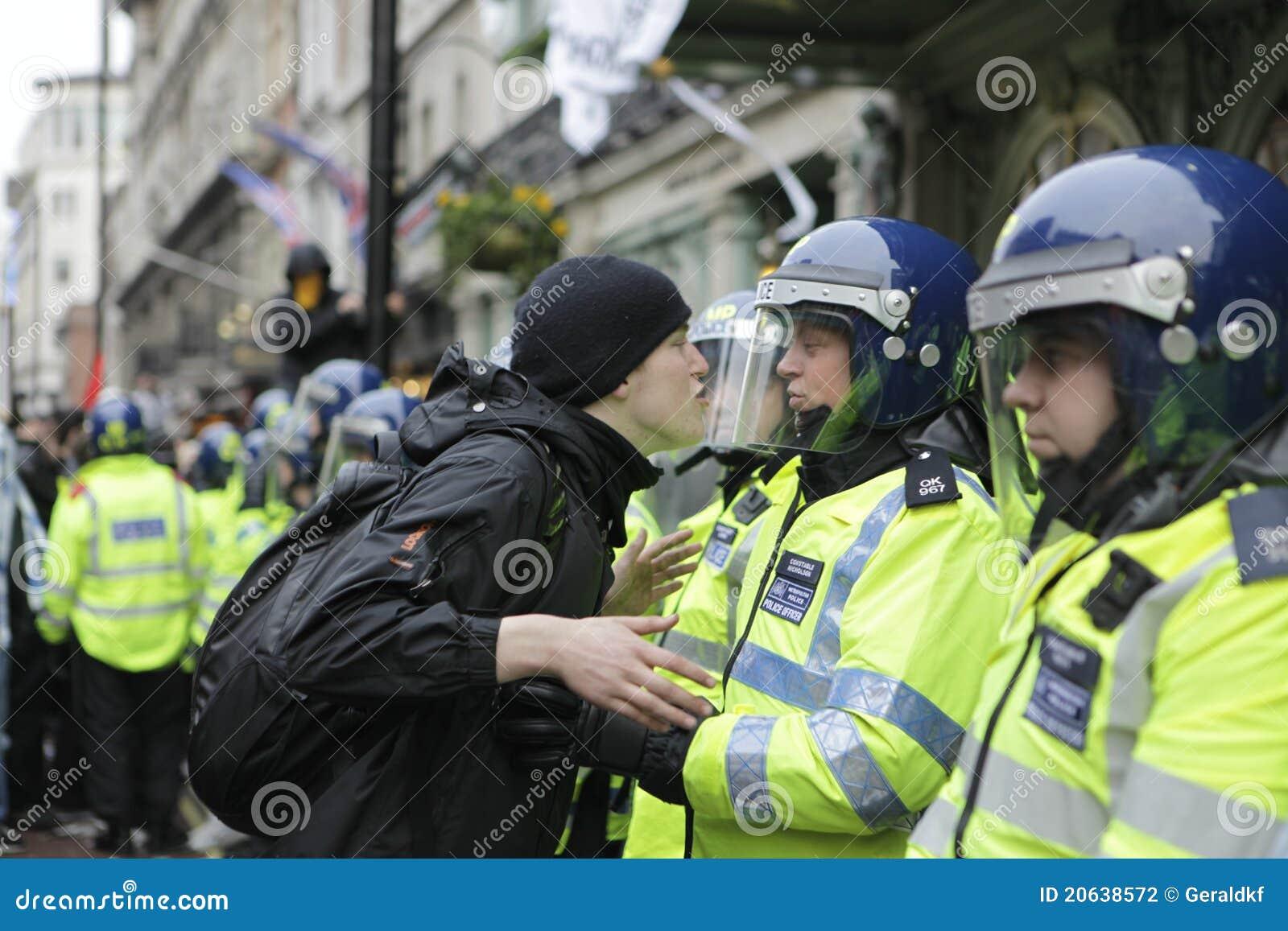 Anti snittlondon protest