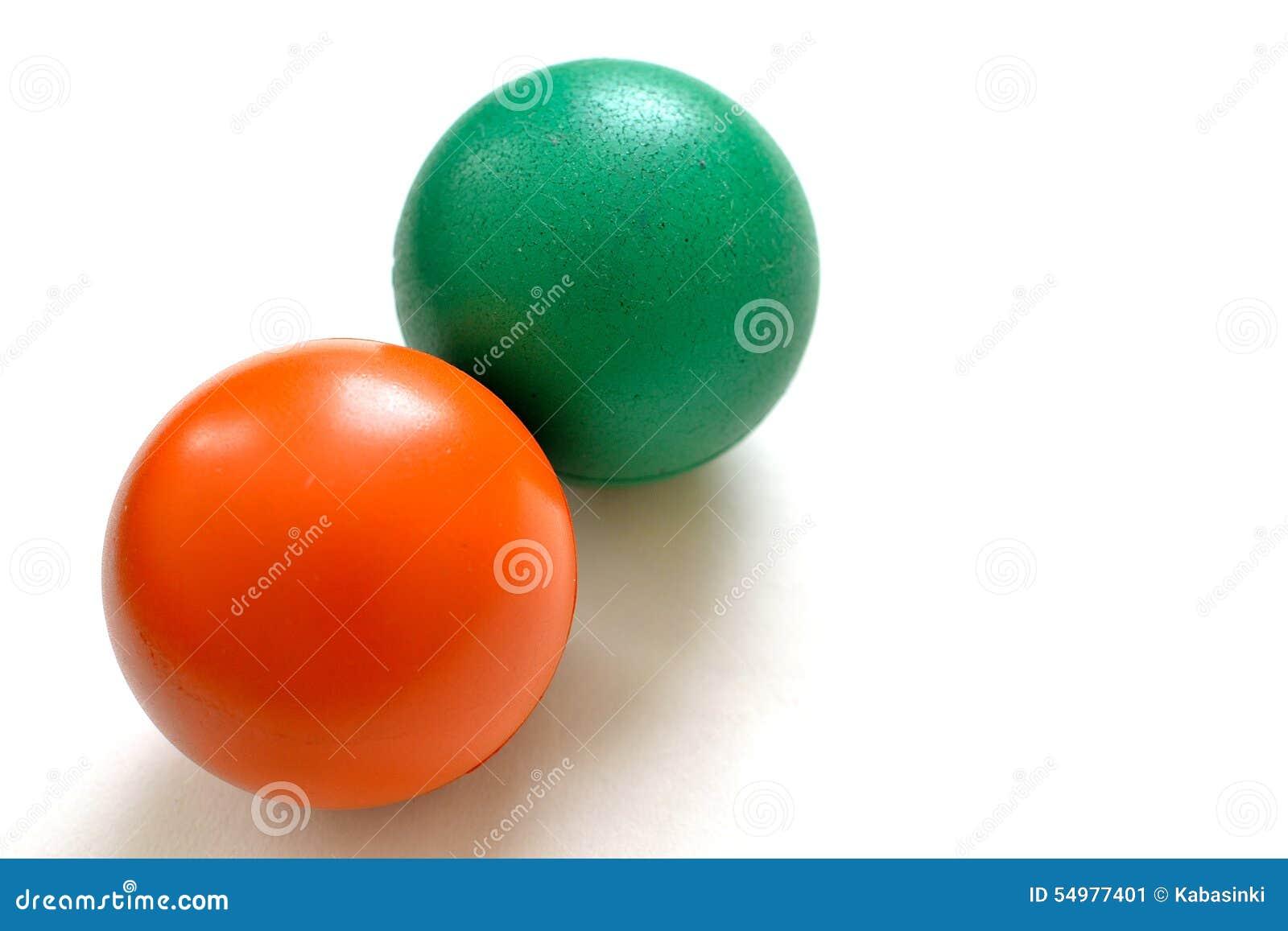 Anti--spänning bollar