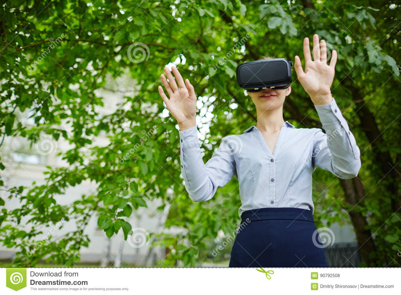 Anti-Stress Therapy VR stock photo  Image of office, using - 90792508