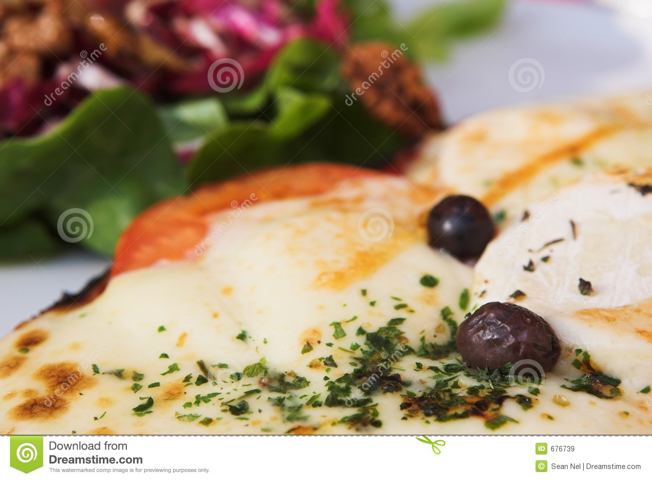 Download Antibes #166 stock image. Image of melted, salad, tomato - 676739