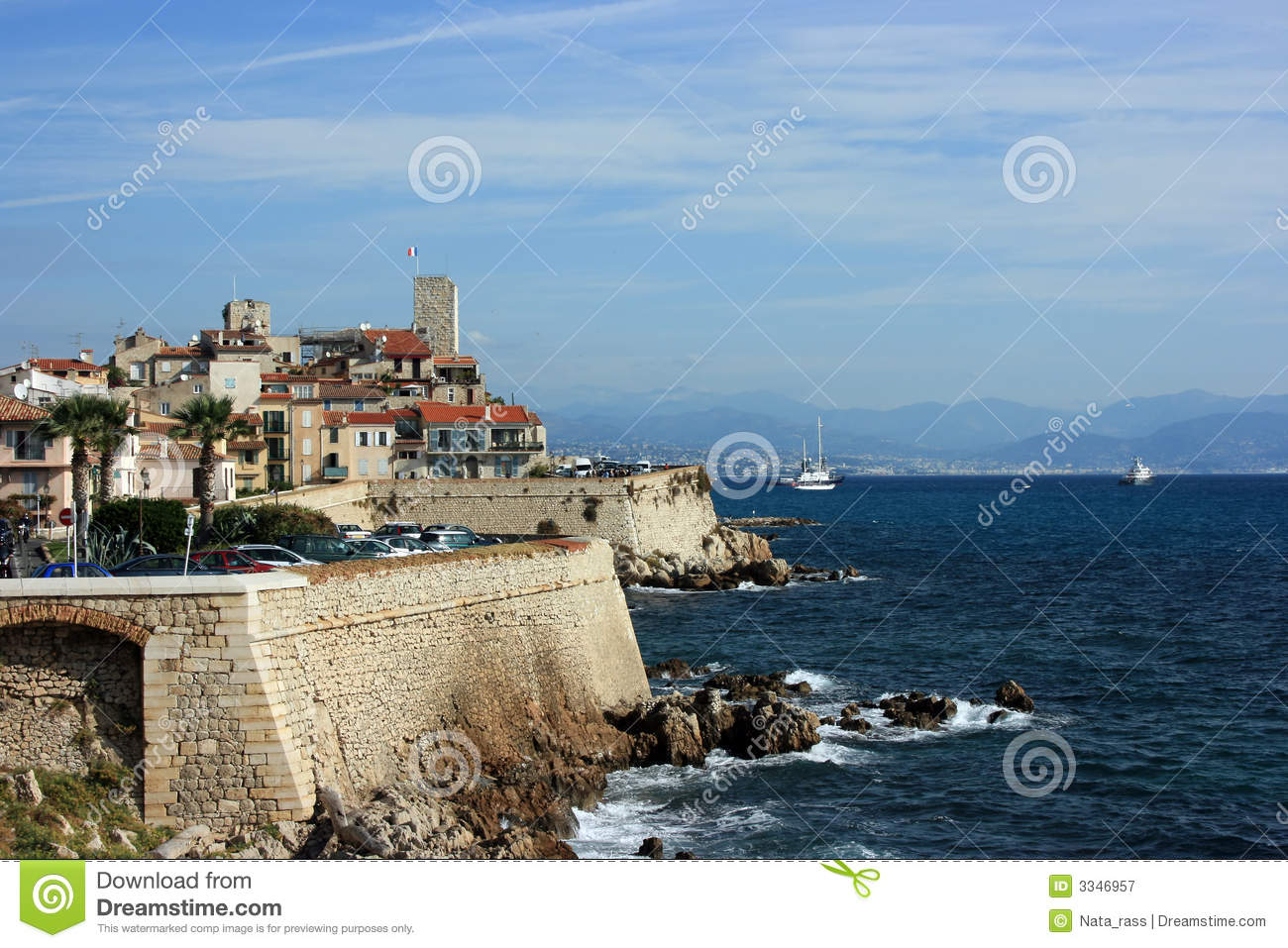 antibes at day 2 royalty free stock photography image 3346957. Black Bedroom Furniture Sets. Home Design Ideas